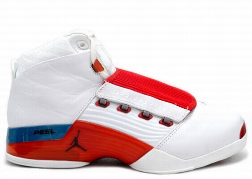 Air Jordan 17 Retro White Red